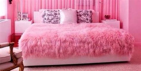 pink faux fur comforter home accessory fur pink comforter pink blanket girly