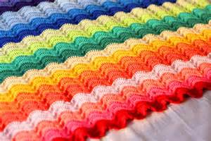 Owl Rugs For Kids Rainbow Ripples Crochet Blanket Pattern Crochet Kingdom