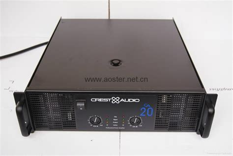Power Lifier Sound Standard crest audio lifier ca20 1300w 2 china manufacturer power