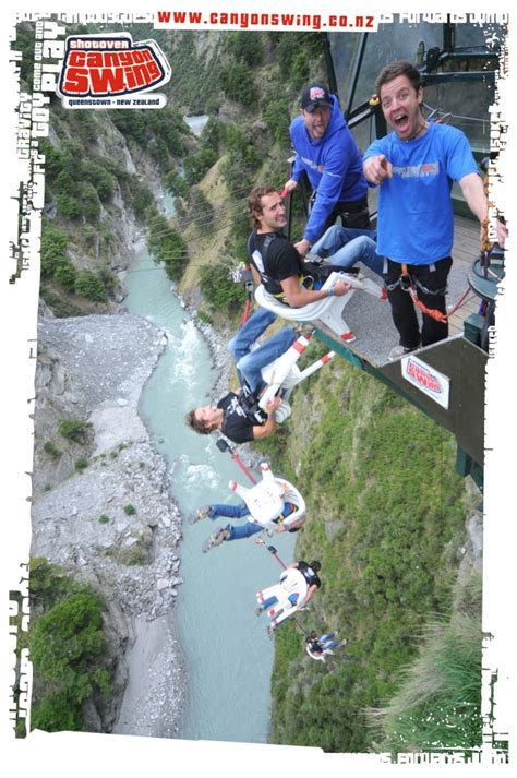 canyon swing death introducing new zealands chair of death the shotover