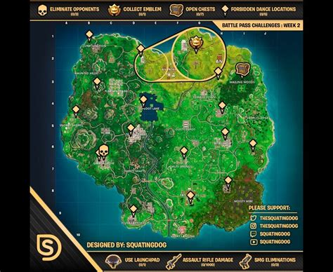 fortnite week 4 challenges list of all challenges for fortnite battle royale week 1
