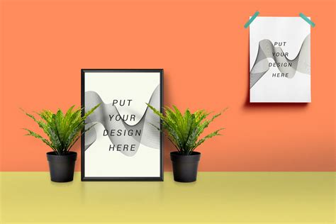 Interior Design Photos by 40 Best Poster Mockup Templates To Display Design