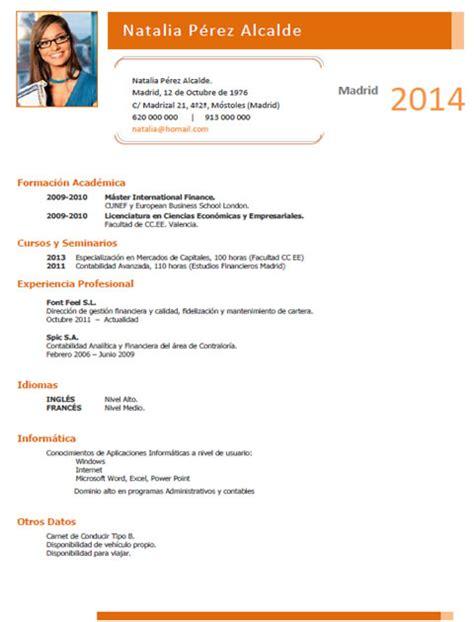 Plantillas De Curriculum Vitae En Aleman Plantillas Y Ejemplos De Curriculum En Alem 225 N Trabajar En Alemania Cvexpres