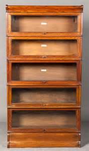 Globe Wernicke Bookcase For Sale Golden Oak Globe Wernicke Bookcase 221241