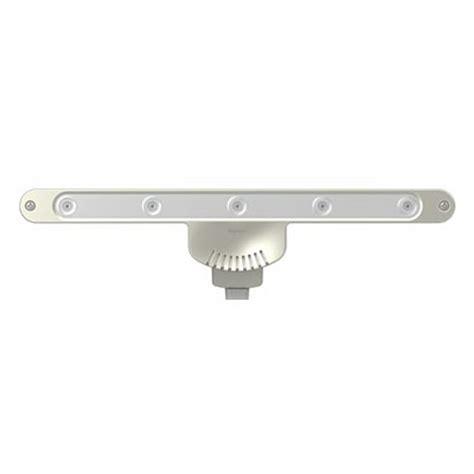legrand adorne under cabinet 11 3 8 inch led under cabinet light plug in 120v grey by