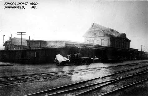 frisco depot 1890 springfield missouri the frisco a