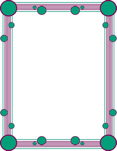 simple color border clipart clipartsgram com