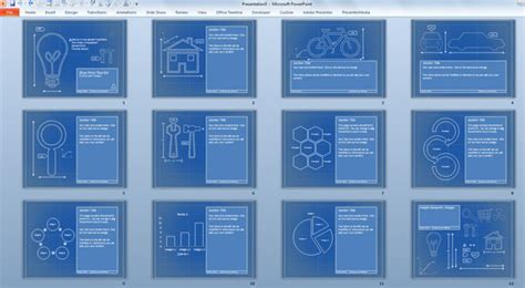 blueprint templates for microsoft powerpoint presentations