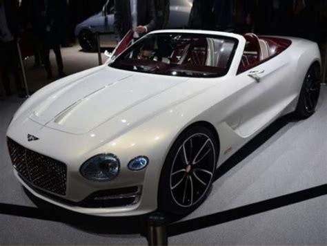 Bentley Manufacturer Bentley Manufactures Its Electric Car Photos