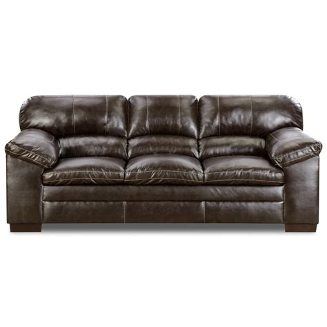 sofa warehouse memphis simmons upholstery 8049 casual sofa with pillow arms