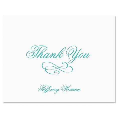 Where To Buy Tiffany Gift Card - tiffany personalized thank you cards current catalog
