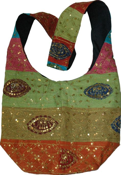 Sequined Handbag indian handbag with sequins purses bags sale on bags