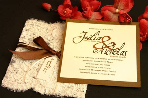 Simple Handmade Wedding Invitations - unique wedding invitations modern magazin