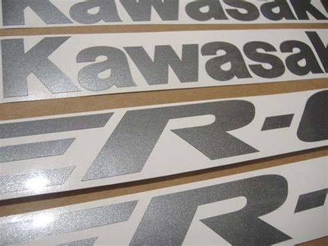 Sticker Kawasaki Er6f by Kawasaki Er 6f 650r 2006 Decals Set Kit Black