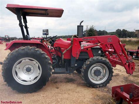 mahindra tractor loader tractordata mahindra 5500 tractor photos information