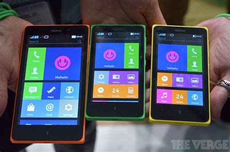 nokia android phones x series microsoft to add home button to x series android smartphones
