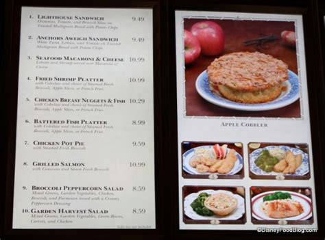 columbia harbor house menu review seafood macaroni cheese and chicken pot pie at columbia harbour house the