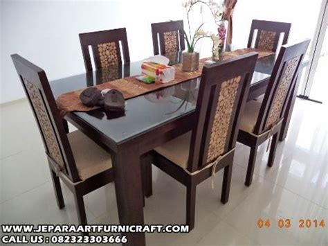 Meja Makan Jati Ganesha Best Design Kursi Makan Jati Dining Table harga kursi makan minimlais jati koin murah
