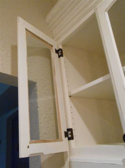 Cabinet Door Diy Diy Changing Solid Cabinet Doors To Glass Inserts Glass Cabinet Doors Glass Cabinets And