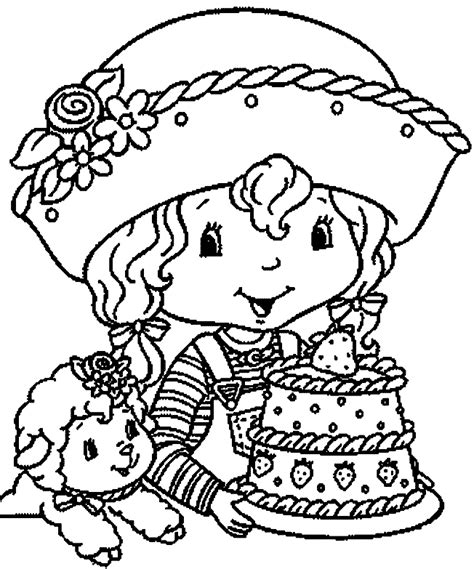 Anything About Strawberry Shortcake Strawberry Shortcake Strawberry Shortcake Birthday Coloring Pages
