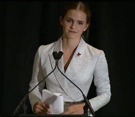 emma watson speech emma watson s united nation speech encourages both men and