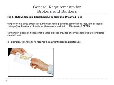 respa section 8 violation exles 2014 rules regulations and ethics while marketing to
