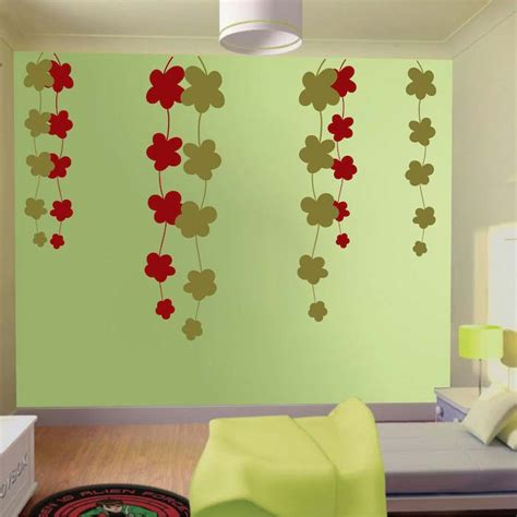 trendy wall design trendy vines wall decals trendy wall designs