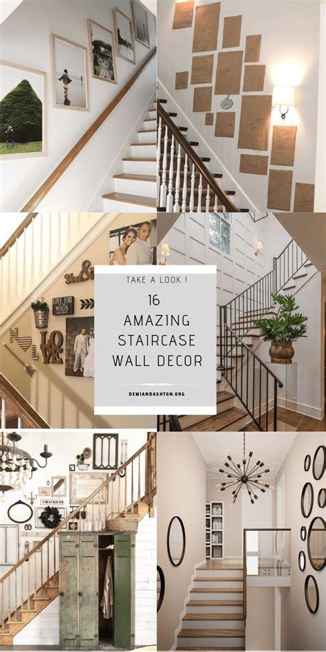 staircase wall decor ideas    hallway