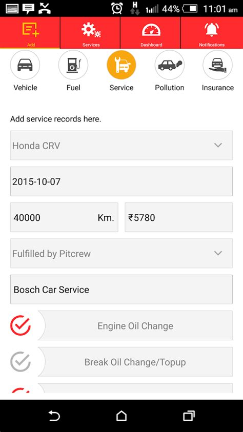 Pitcrew Car Service & Tracking   Android Apps on Google Play