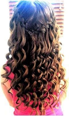 cute hairstyles for 10 year old girl dance girl with wavy hair style fashionhugs com