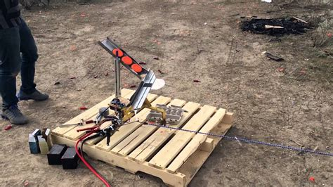 automatic thrower clay pigeon launcher