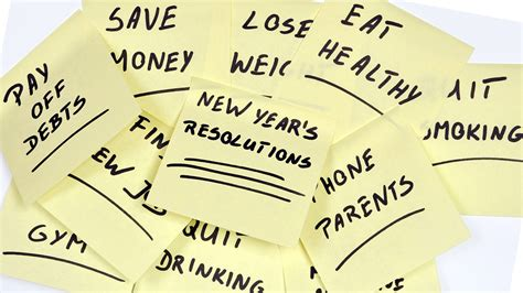 resolutions for the new year 5 new year s resolutions you ll and how to change