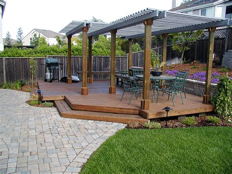 deck in backyard 15 amazing backyard landscaping ideas backyard decking