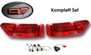 Audi A5 Facelift R Ckleuchten by Komplett Set Led Heckleuchten F 252 R Audi A5 S5 Facelift