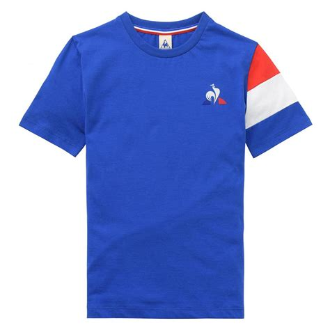 Kid Shirt From Ordinal Apparel le coq sportif clothing tricolore t shirt blue aiccsy