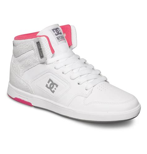 womans high top sneakers s nyjah high top shoes adjs100048 dc shoes