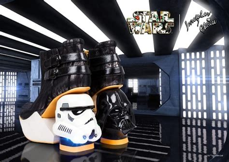 stormtrooper high heels vader and stormtrooper heels take a walk on the side