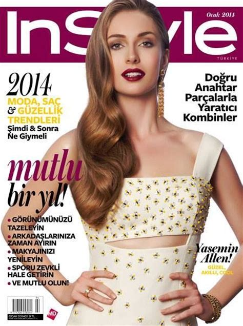 Beyonce On The Cover Of Instyle Magazine by Yasemin Allen Instyle Magazine Cover Turkey January