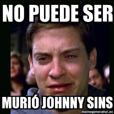 Meme My Photo - meme crying peter parker no puede ser muri 243 johnny sins