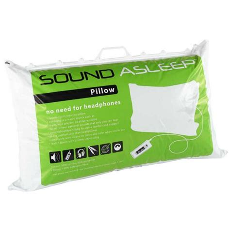 Noise Pillow by Buy Sound Asleep Pillow From Our All Gifts Range Tesco