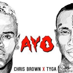 Chris brown tyga drop quot ayo quot ahead of fan of a fan 2 release listen