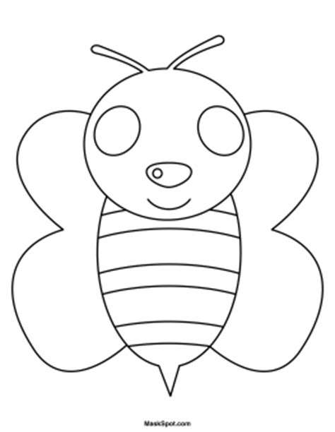 printable bee mask template printable bee mask
