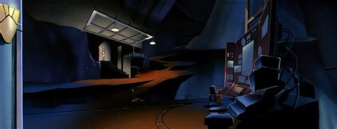 Computer Bookcase Ray Hardgrit S Sci Fi Adventures Batman The Animated