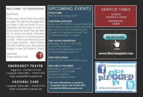 10 Best Modern Church Bulletins Newsletters Images On Pinterest Church Bulletins Church Contemporary Church Bulletin Templates
