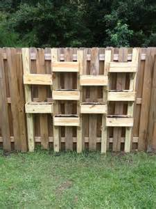 fence planters garden