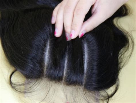 pictures of haistyles with 3 part silk closure how to install a 3 part closure braid pattern