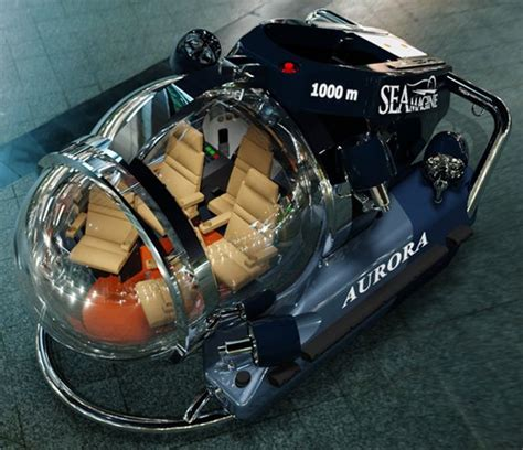 luxury submarine  person personal submersible