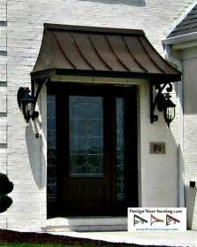 exterior door awning the juliet gallery metal awnings projects gallery of