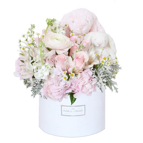 new baby flowers and gifts dream world florist decor the princess bloom box her the floral atelier the