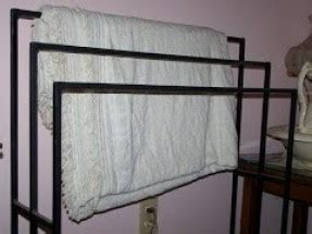 Cast Iron Quilt Rack Wrought Iron Quilt Rack Thing